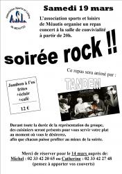 Soiree rock 2016